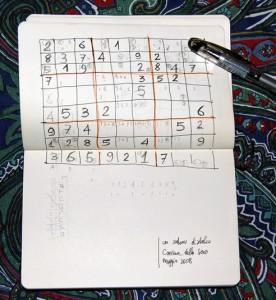 ۱۷ نشانه، بهترین راه حل جدول سودوکو