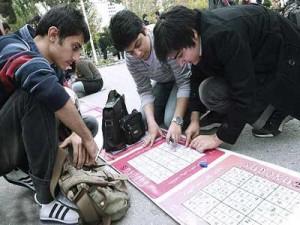 سودوکو در دانشکده ریاضی و علوم کامپیوتر دانشگاه صنعتی امیرکبیر برگزار شد