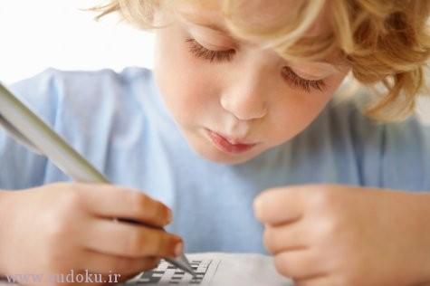 سودوکو ضریب هوشی کودکان را افزایش میدهد